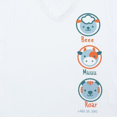 Imagem 3 do produto Pijama longo em malha Bichinhos - Cara de Sono - L1733-ANIMAIS MASC L PJ-LONGO M/MALHA-4
