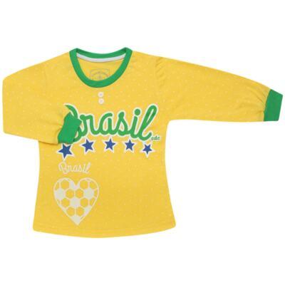 Imagem 2 do produto Pijama longo que Brilha no Escuro Brasil - Cara de Criança - L1112 Pijama longo que Brilha no Escuro Brasil-3