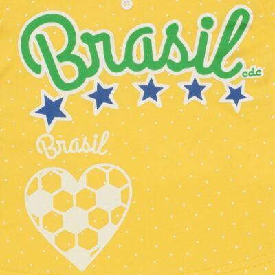 Imagem 3 do produto Pijama longo que Brilha no Escuro Brasil - Cara de Criança - L1112 Pijama longo que Brilha no Escuro Brasil-4
