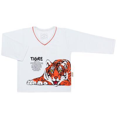 Imagem 2 do produto Pijama longo que Brilha no escuro Tigre - Cara de Criança - L2357 TIGRE L PJ-LONGO M/MALHA -3