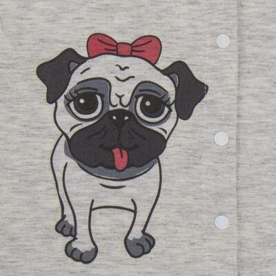 Imagem 4 do produto Pijama que Brilha no Escuro Pug - Cara de Criança - L0553 PIJAMA QUE BRILHA NO ESCURO PUG-1