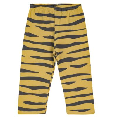 Imagem 5 do produto Pijama curto em malha que Brilha no Escuro Tigre - Cara de Criança - C2897 TIGRE C PJ MG CURTA C/CALCA M/MALHA-4