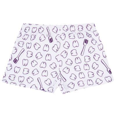 Imagem 5 do produto Pijama curto que Brilha no Escuro Dentinha - Cara de Criança - U2881 TIME SORRISO FEM U PIJAMA CURTO M/MALHA-6