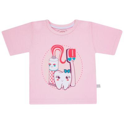 Imagem 2 do produto Pijama curto que Brilha no Escuro Dentinha - Cara de Criança - U2881 TIME SORRISO FEM U PIJAMA CURTO M/MALHA-3