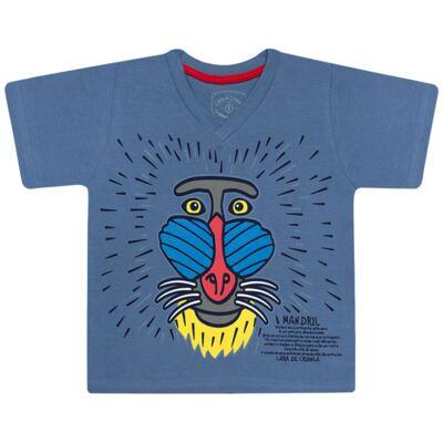 Imagem 2 do produto Pijama curto que Brilha no Escuro Mandril - Cara de Criança - U0903 PIJAMA CURTO QUE BRILHA NO ESCURO MANDRIL-4