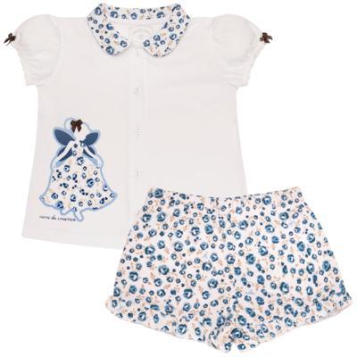 Imagem 1 do produto Pijama curto com abertura Fada - Cara de Criança - AB0881 PIJAMA CURTO COM ABERTURA FADA-2