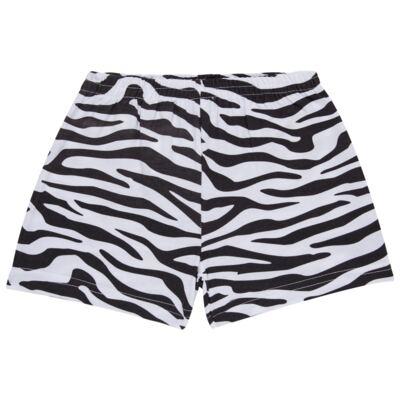 Imagem 6 do produto Pijama curto que Brilha no Escuro Tigre Branco - Cara de Criança - U2283 TIGRE BRANCO U PIJAMA CURTO M/MALHA-2