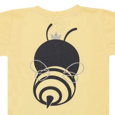 Imagem 6 do produto Pijama curto que Brilha no Escuro Little Bee - Cara de Criança - U2278 ABELHA PIJAMA-CURTO M/MALHA -3