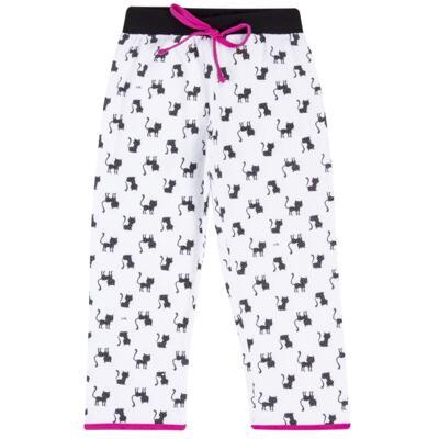 Imagem 5 do produto Pijama curto em malha que Brilha no Escuro Gata Bombaim - Cara de Criança - C2893 GATA BOMBAIM C PJ-MG CURTA C/CALCA M/MALHA-2