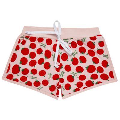 Imagem 6 do produto Pijama Regata que Brilha no Escuro Tomatinho Cereja - Cara de Criança - R2277 TOMATE CEREJA R PJ REGATA COTTON -2