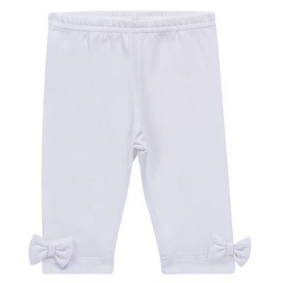 Imagem 1 do produto Legging para bebe em cotton Branca - Tilly Baby - TB168013.01 LEGGING FEMININA BRANCA-M