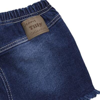 Imagem 2 do produto Shorts para bebê jeans Destroyed - Tilly Baby - TB168000 SHORT JEANS FEMININO-3
