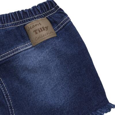 Imagem 2 do produto Shorts para bebê jeans Destroyed - Tilly Baby - TB168000 SHORT JEANS FEMININO-P