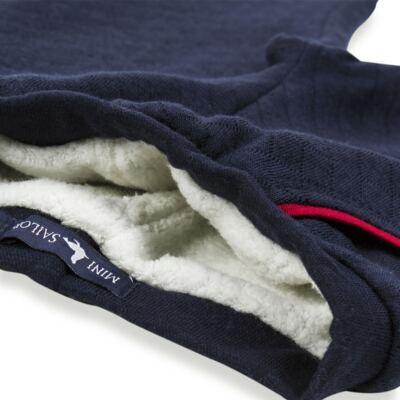 Imagem 5 do produto Calça para bebe Matelassê & Pelúcia Marinho - Mini Sailor - 41644262 CALÇA FORRADA BOLSO E VIVO MATELASSE MARINHO -1
