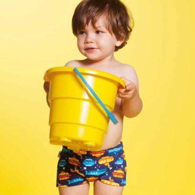 Imagem 2 do produto Sunga boxer para bebe em lycra Submarino - Puket