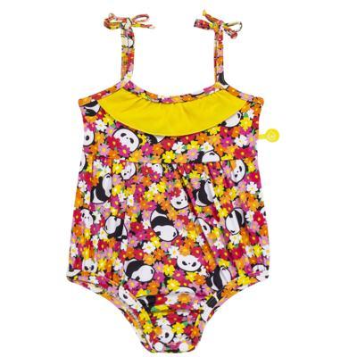 Imagem 1 do produto Maiô para bebe em lycra Pandinha - Cara de Criança - MB2523 PANDINHA MB MAIO BEBE LYCRA-G