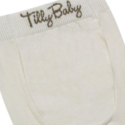 Imagem 3 do produto Meia-Calça para bebe em algodão Marfim - Tilly Baby - TB172031.03 ACESSORIO MEIA UNISSEX BASICA MARFIM-GG