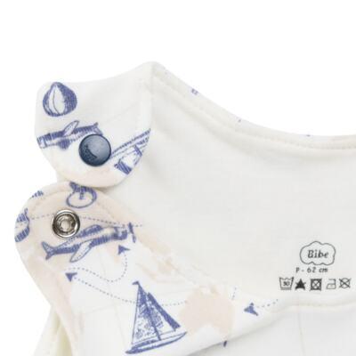Imagem 3 do produto Macacão regata para bebe em algodão egípcio Bon Voyage - Bibe - 41D40-H56 BANHO DE SOL MASC BON VOYAGE-GG