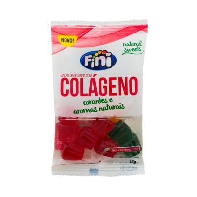 Imagem 1 do produto Balas de Gelatina Fini Natural Sweets Colágeno 18g