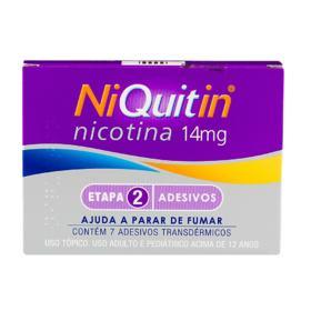 Niquitin - 14mg | 7 adesivos transdérmicos transparentes