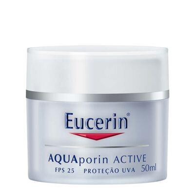 Imagem 1 do produto Creme Facial Eucerin Aquaporin Active FPS 25 50ml