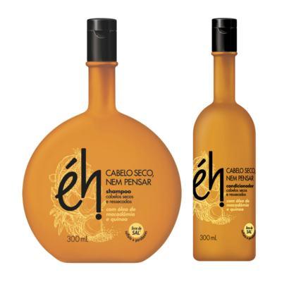 Imagem 1 do produto Kit Éh Hidratante Shampoo 300ml + Condicionador 300ml