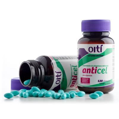 Imagem 2 do produto Anticel 500mg Oiti 120 Cápsulas