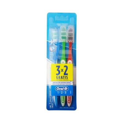 Escova Dental Oral-B 1.2.3 Leve 3 Pague 2 Unidades