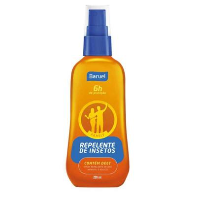 Repelente Spray Baruel Family 200ml