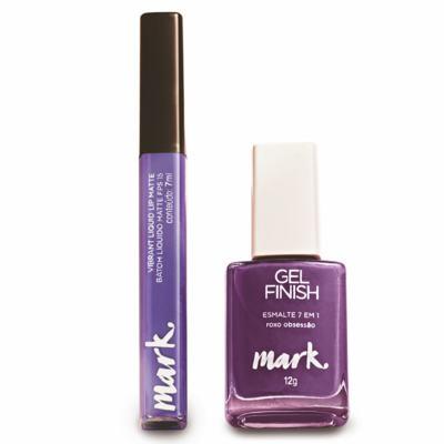 Imagem 1 do produto Presente Maquiagem Mark - Violeta