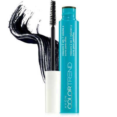 Imagem 1 do produto Máscara 2 em 1: Volume e Curva para Cílios Color Trend