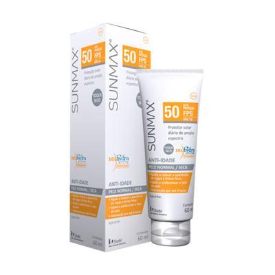 Imagem 1 do produto Protetor Solar Sunmax Anti-Idade Pele Normal-Seca Fps 50 Stiefel 60ml