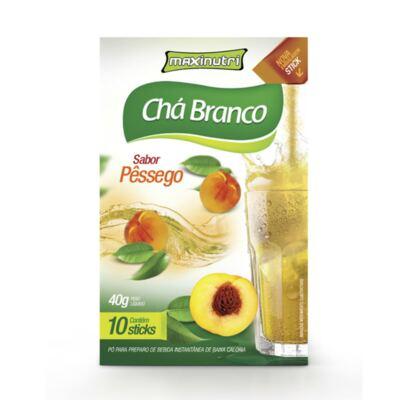 Imagem 1 do produto Chá Branco Tisana Maxinutri Pêssego 40g