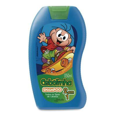 Imagem 1 do produto Shampoo Betulla Cebolinha Kids 2 em 1 250ml