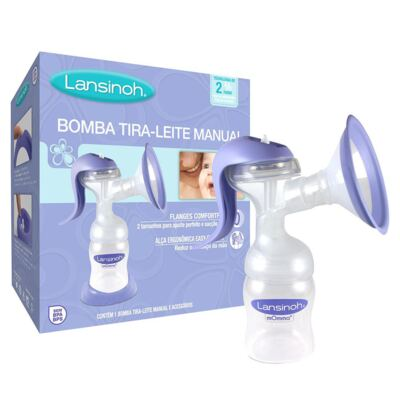 Imagem 1 do produto Bomba Tira-Leite Manual 2 Fases - Lansinoh