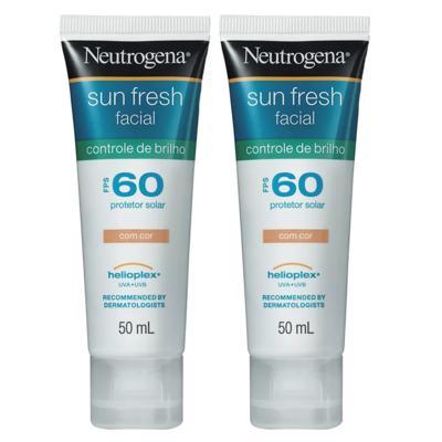 Imagem 1 do produto Kit Sun Fresh Neutrogena - Leve 2 Pague 1 - Kit