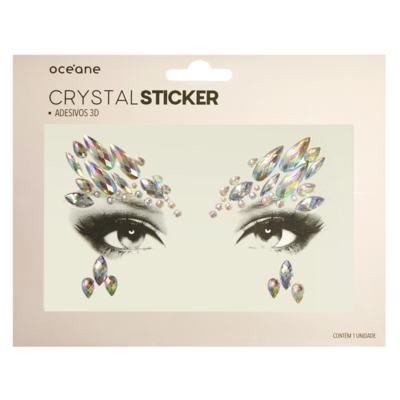 Adesivo Facial Océane - Crystal Sticker 3D S1 - 1 Un