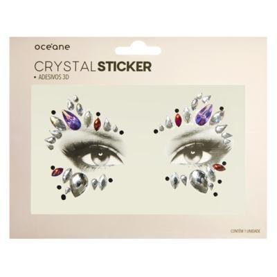 Adesivo Facial Océane - Crystal Sticker 3D S3 - 1 Un