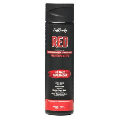 Imagem 1 do produto Condicionador Tonalizante About You - Red Fast Beauty - 200ml