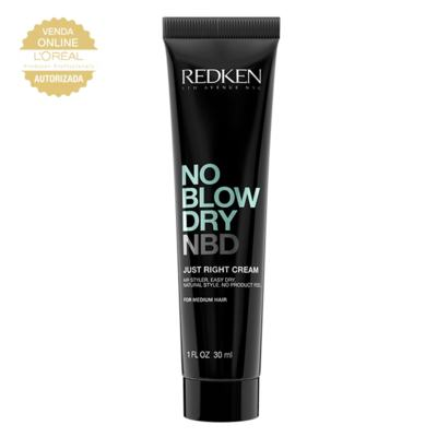 Redken No Blow Dry Just Right Cream - Leave In Travel Size - 30ml