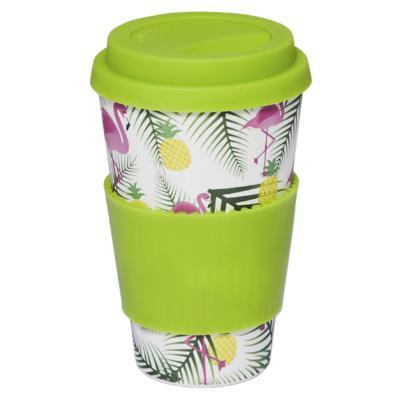 Copo Eco Océane - Bamboo Cup Flamingos - 1 Un