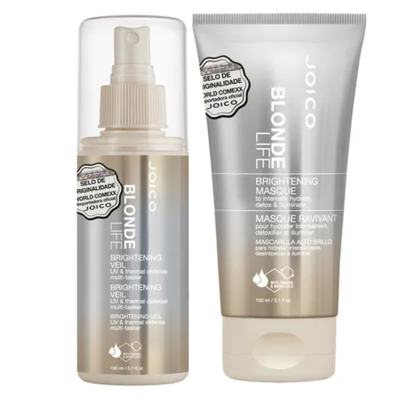 Imagem 1 do produto Joico Blonde Life Brightening Kit - Máscara + Leave-In - Kit