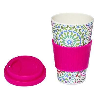 Imagem 3 do produto Copo Eco Océane - Bamboo Cup Mandalas - 1 Un