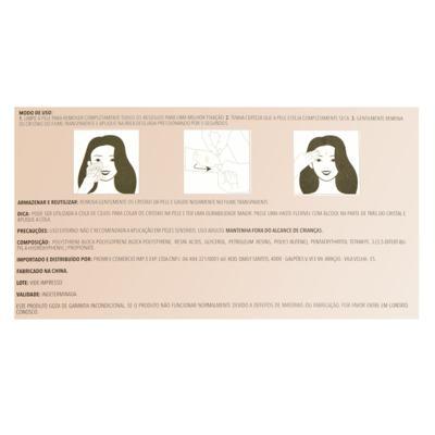 Imagem 2 do produto Adesivo para Rosto Océane - Shine Dots Dourado - 1 Un