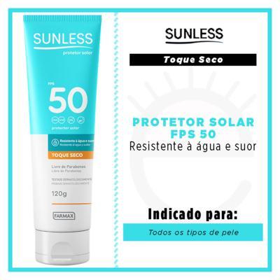 Imagem 2 do produto Protetor Solar Sunless - Toque Seco FPS 50 - 120g
