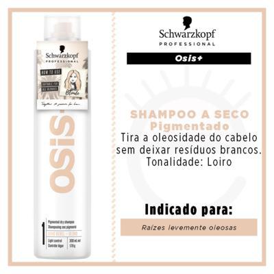 Imagem 2 do produto OSiS+ Boho Rebel Schwarzkopf - Shampoo a Seco Cabelos Loiros - 300ml