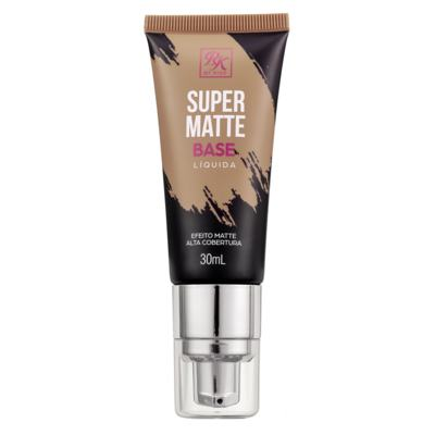 Imagem 1 do produto Base Líquida RK by Kiss - Super Matte - Cappuccino