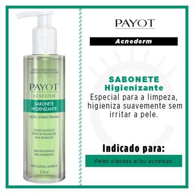 Imagem 2 do produto Sabonete Líquido Facial Higienizante Payot - Acnederm - 210ml