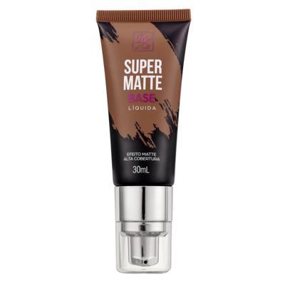 Imagem 1 do produto Base Líquida RK by Kiss - Super Matte - Chocolate