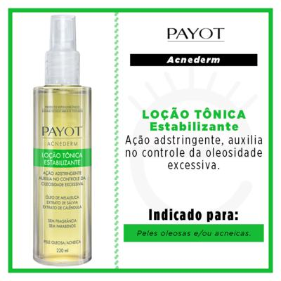 Imagem 2 do produto Loção Tônica Facial Estabilizante Payot - Acnederm - 220ml